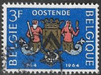 Belgium SG1889 1964 Millenary of Ostend 3f good/fine used
